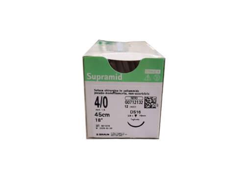 Sutura Supramid Ds16 4/0 12Pz G0712132 Braun