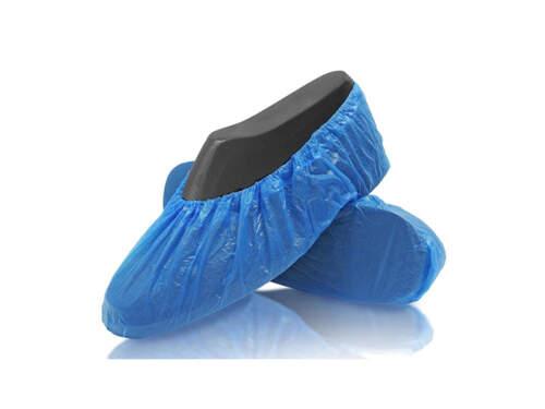 Copriscarpe Cpe Azzurro C/elastico Chemil 100Pz 71111