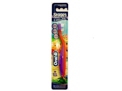 Spazzolino Stages 2 (3-5 Anni) Bambina 75049645 Oral-B