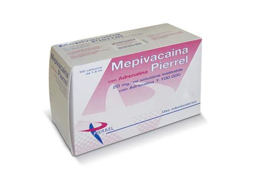 Mepivacaina 20Mg/ml + Adren. 2% 100Fl 1:100.000 Pierrel
