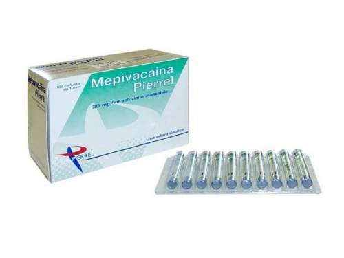 Mepivacaina 30Mg/ml Senza Vasocost.3% 100Fl. Pierrel