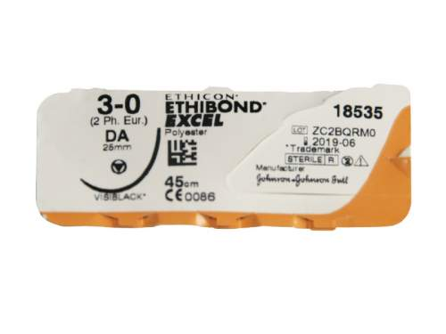 Sutura Ethibond Excel 18535G 3/0 Pz.12
