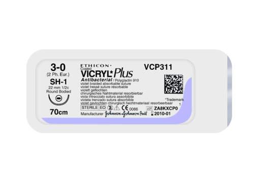 Sutura Vicryl Plus Vcp3040H 4/0 Pz.36