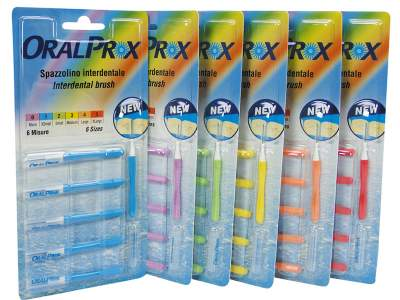 Oralprox Scov.cil.n.2 Small Verde 12 Blister X6Pz 341002