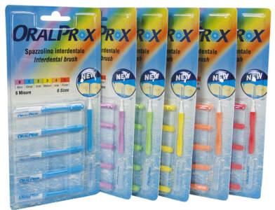Oralprox Scov.con.n.3 Medium Giallo 12 Blister X6Pz 341003