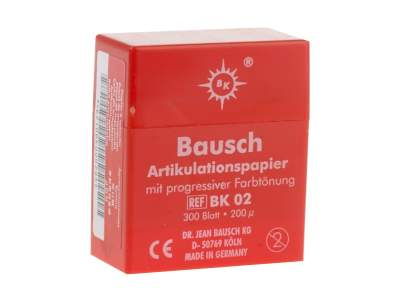 Carta Art.bausch Box 300 Rossa Bk02