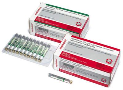 Scandonest 3% S.adrenalina Verde Septodont