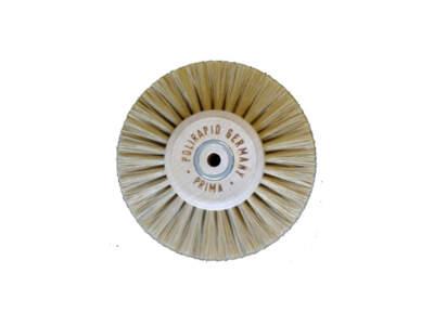 Spazzola Prima Setola Bianca A Punta Diam.80Mm 1Pz 44080Pbc