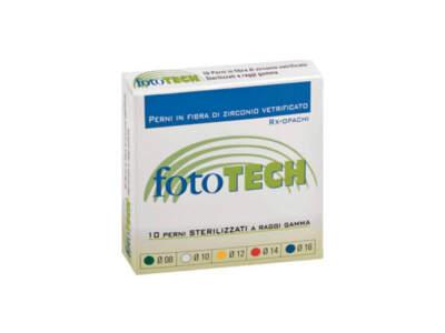 Fototech Ric.10 Perni Zirconio Diam.08 Verdi Techl815