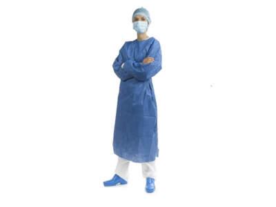 Camice Microfibra Sterile Azzurro Large 1Pz  Alle 270406
